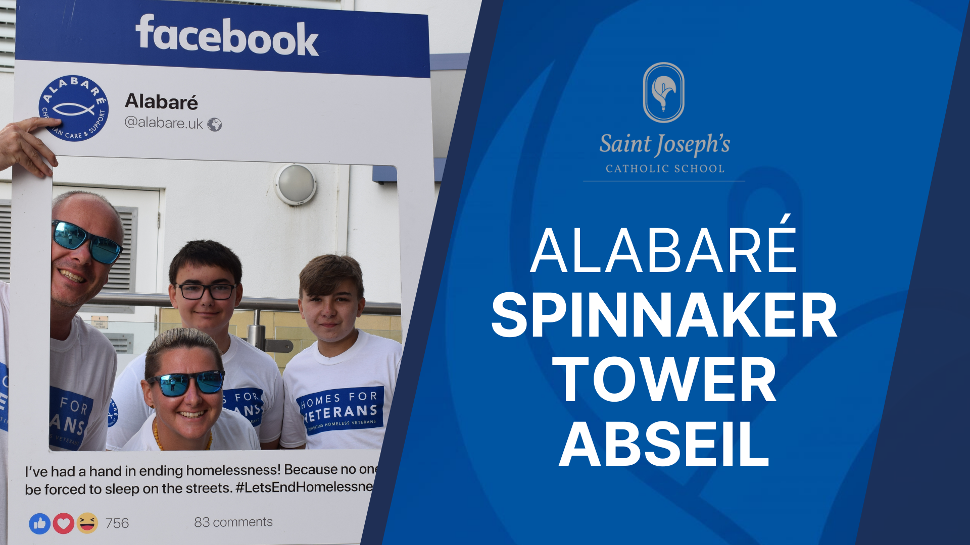 """Featured image for """"Spinnaker Tower Abseil for Alabaré"""""""